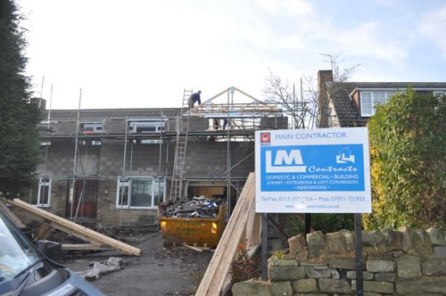 House extension in Leeds